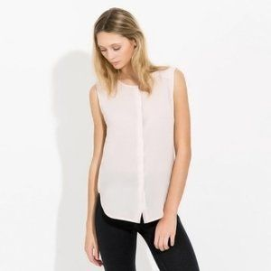 Kit and Ace Pale Pink Lightweight Sleeveless Top